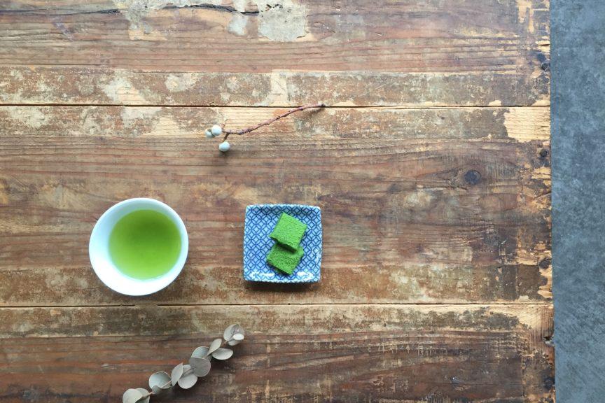 緑茶で乗り切りましょう!
